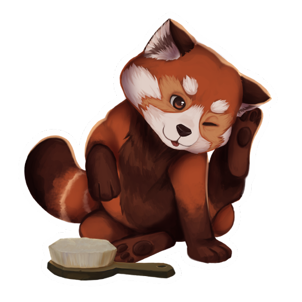 My Red Panda - My lovely pet messages sticker-5