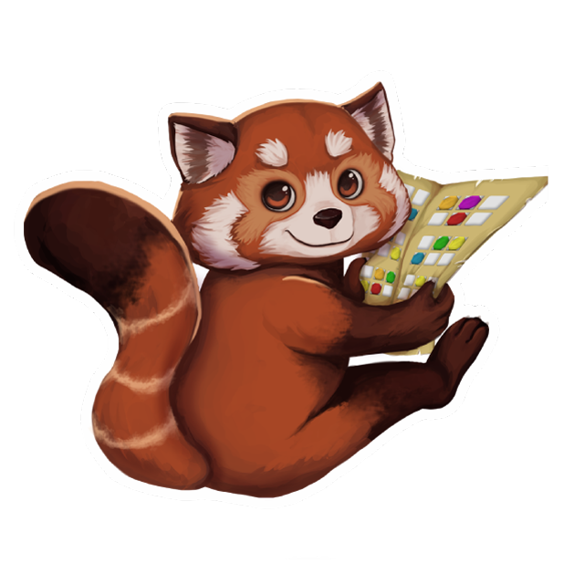 My Red Panda - My lovely pet messages sticker-2