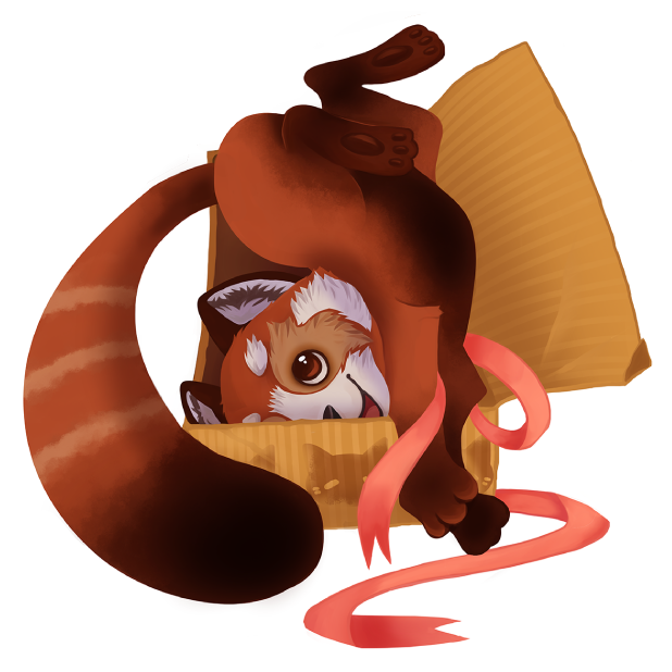 My Red Panda - My lovely pet messages sticker-8