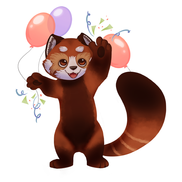 My Red Panda - My lovely pet messages sticker-7