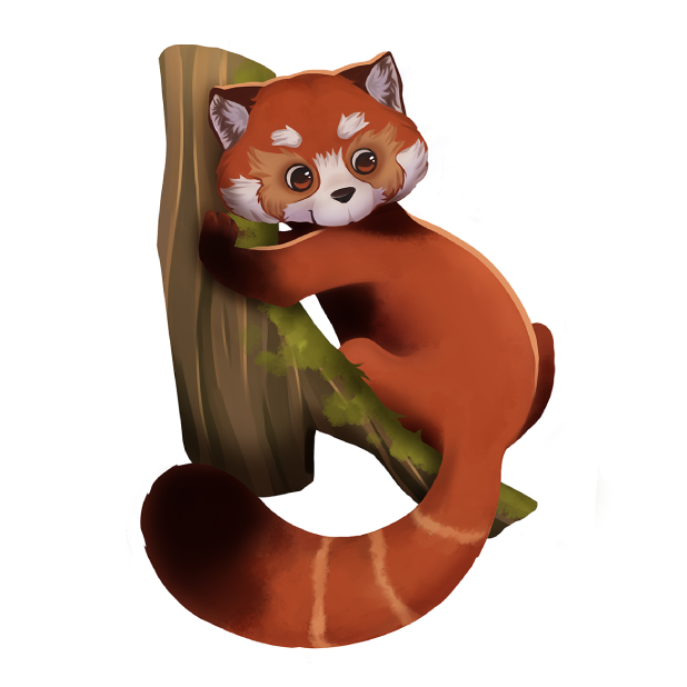 My Red Panda - My lovely pet messages sticker-6
