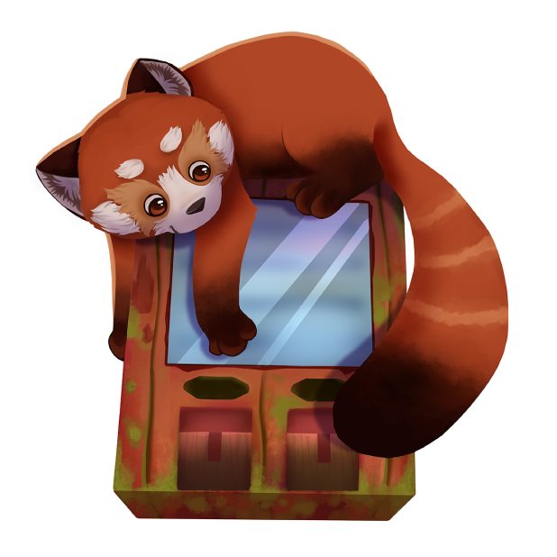 My Red Panda - My lovely pet messages sticker-9