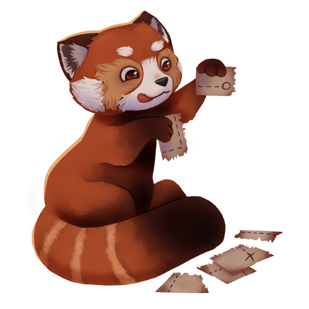 My Red Panda - My lovely pet messages sticker-11
