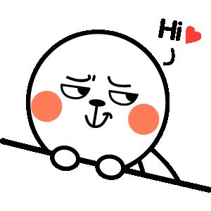 Super Cute Bunny messages sticker-9