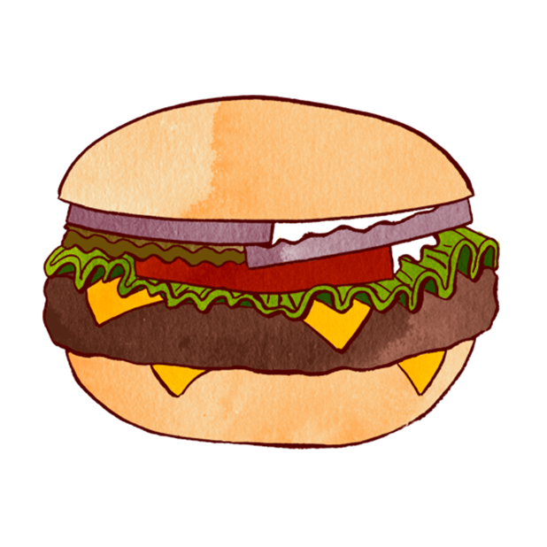 Jazzy World Food messages sticker-0