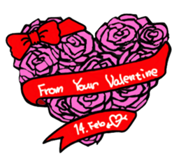 Valentine Day Cards Stickers Pack messages sticker-0