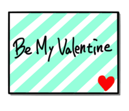 Valentine Day Cards Stickers Pack messages sticker-8