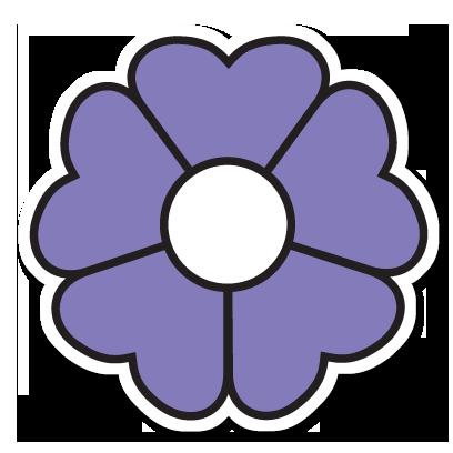 Floræ - Linnaeus' flower clock messages sticker-8