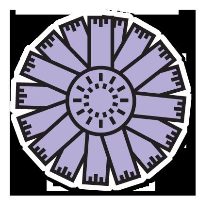 Floræ - Linnaeus' flower clock messages sticker-4