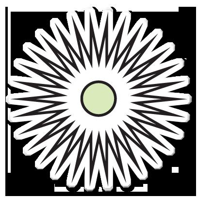 Floræ - Linnaeus' flower clock messages sticker-9