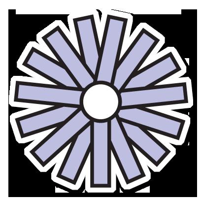 Floræ - Linnaeus' flower clock messages sticker-7