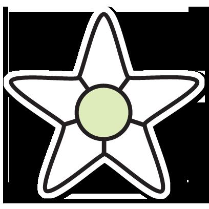 Floræ - Linnaeus' flower clock messages sticker-0