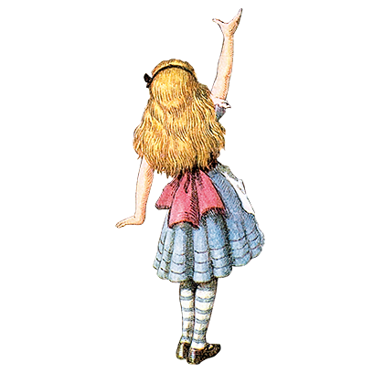 Alice's Adventures in Wonderland Stickers messages sticker-6