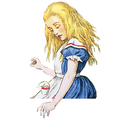 Alice's Adventures in Wonderland Stickers messages sticker-2