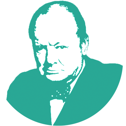 What would Churchill say Stickers messages sticker-3