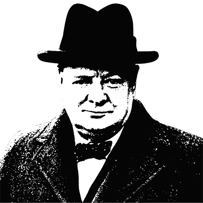 What would Churchill say Stickers messages sticker-6