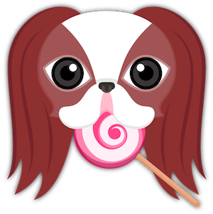 Red Sable Japanese Chin messages sticker-5