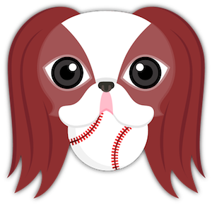 Red Sable Japanese Chin messages sticker-1