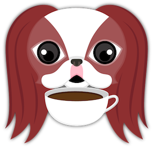 Red Sable Japanese Chin messages sticker-9