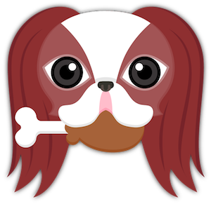 Red Sable Japanese Chin messages sticker-7