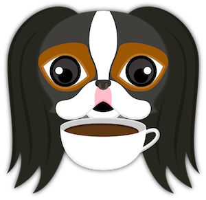Tri Color Japanese Chin messages sticker-9
