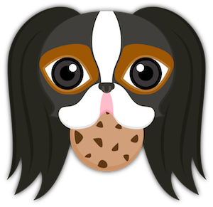 Tri Color Japanese Chin messages sticker-10