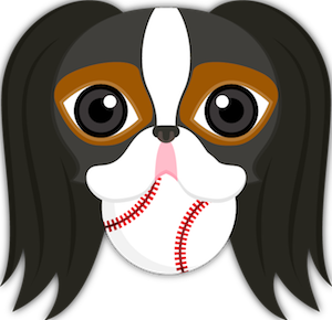 Tri Color Japanese Chin Stickers for iMessage messages sticker-1