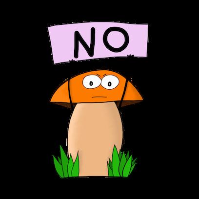 Happy Mushrooms :) messages sticker-11