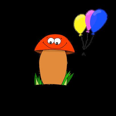 Happy Mushrooms :) messages sticker-5