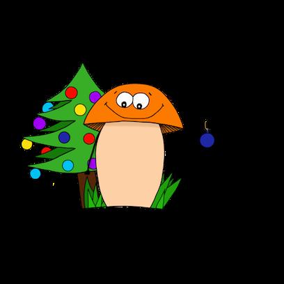 Happy Mushrooms :) messages sticker-6