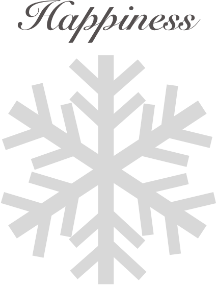 Winter snowflakes stickers messages sticker-7