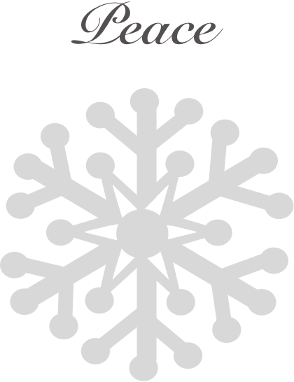 Winter snowflakes stickers messages sticker-3