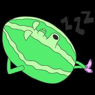 Watermelon Willy messages sticker-4