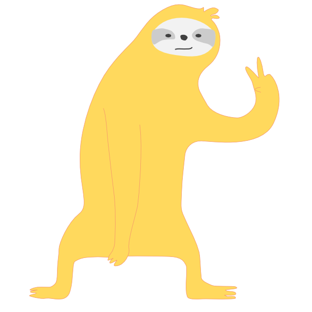 Mediocre Sloth messages sticker-5