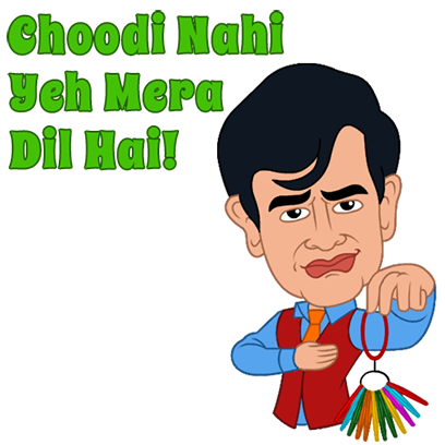 Bollywood Baatein messages sticker-9