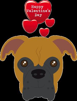 Valentine Dogs messages sticker-11