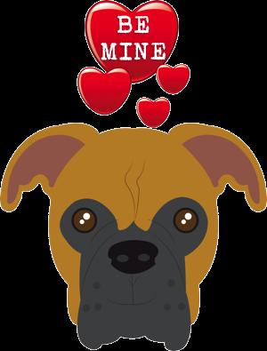 Valentine Dogs messages sticker-10