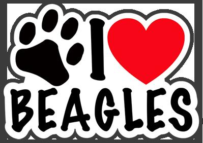 Valentine Dogs messages sticker-0