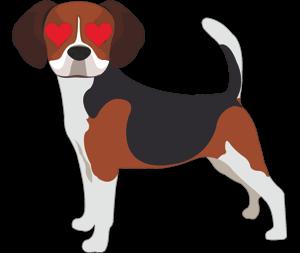 Valentine Dogs messages sticker-8