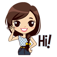 Free Hello Sticker for iMessage messages sticker-7