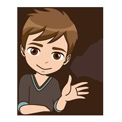Free Hello Sticker for iMessage messages sticker-4