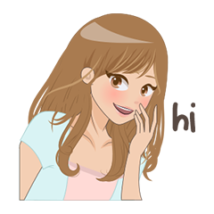 Free Hello Sticker for iMessage messages sticker-2