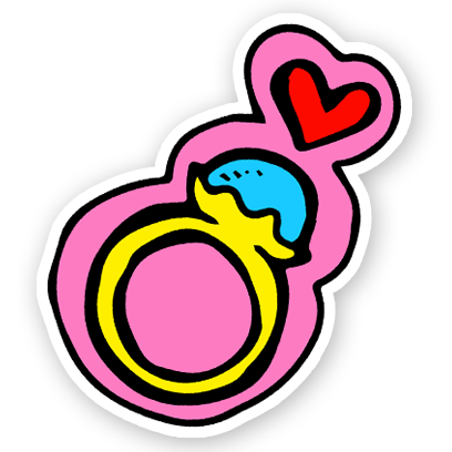 Cute - Valentine's Day Stickers messages sticker-11