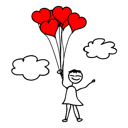Cute Valentine's Day Stickers! messages sticker-8
