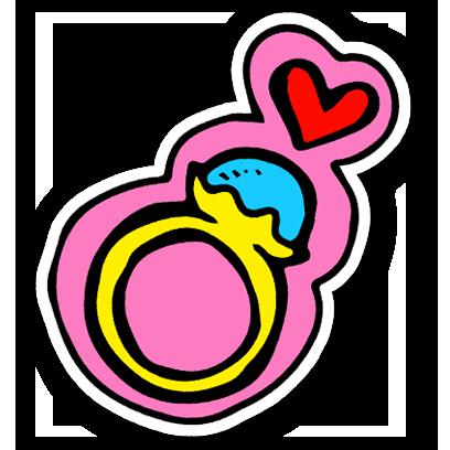 Cute Valentine's Day Stickers! messages sticker-11