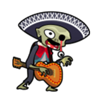 Los Muertos - Shoot the Walking Dead messages sticker-2