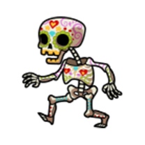 Los Muertos - Shoot the Walking Dead messages sticker-5