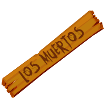 Los Muertos - Shoot the Walking Dead messages sticker-8