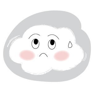 Cute Cloud Stickers messages sticker-8