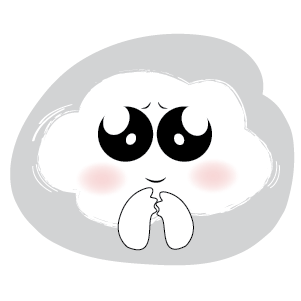 Cute Cloud Stickers messages sticker-1